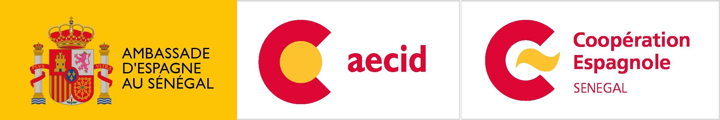 Logo EMB AECID CE SENEGAL